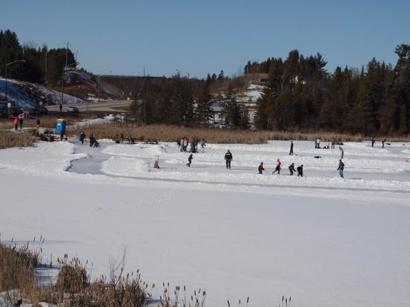 Skating and Hockey in Palgrave, Ontario #2