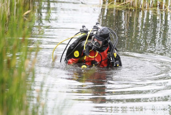 Palgrave police diver