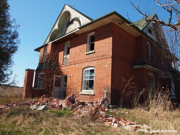 Abandoned House, Highway 9, Caledon