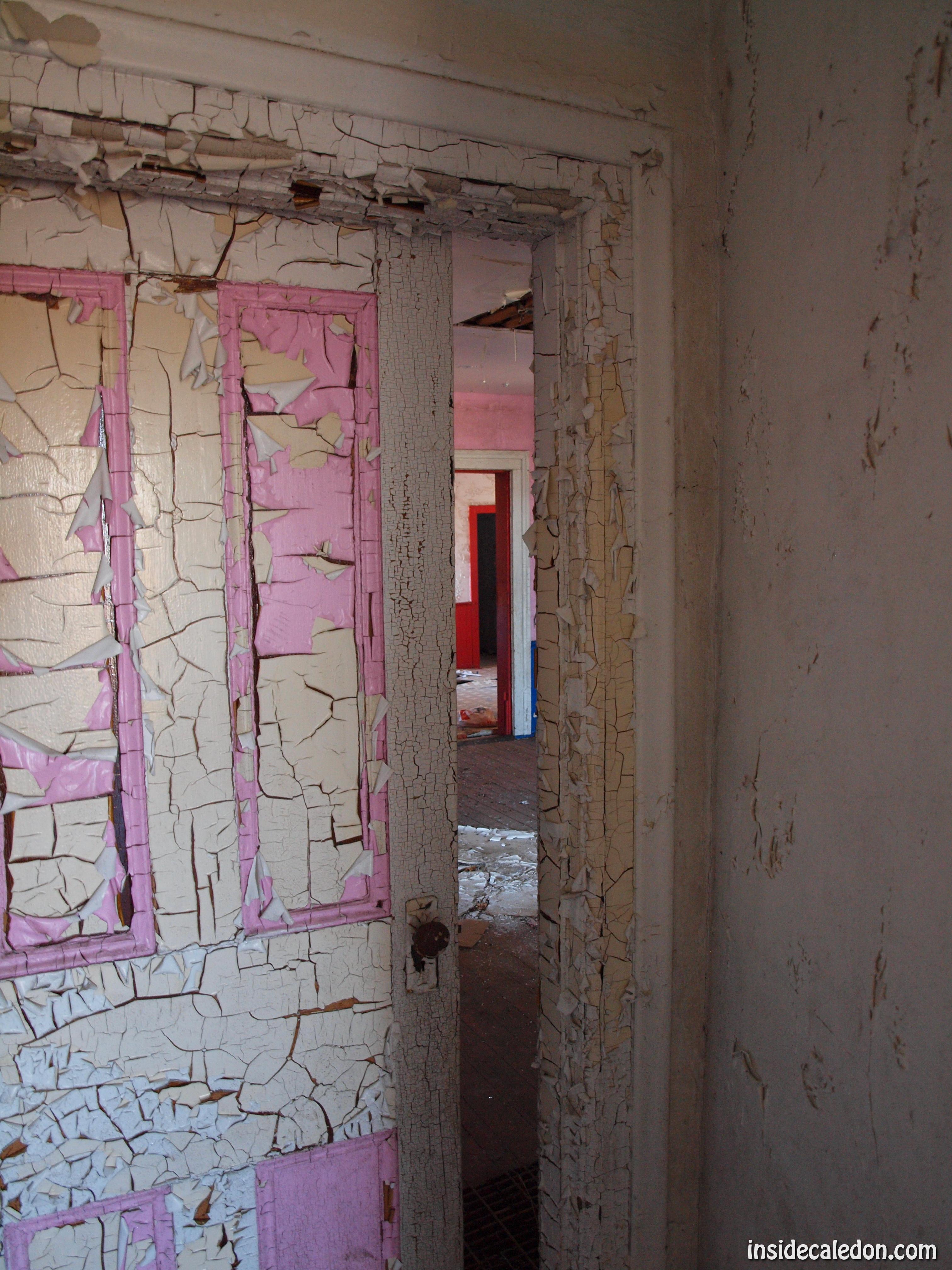 Abandoned House On Highway 9 Caledon Ontario Inside